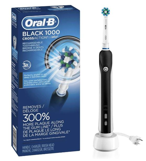 Oral-B Black Pro 1000 Power